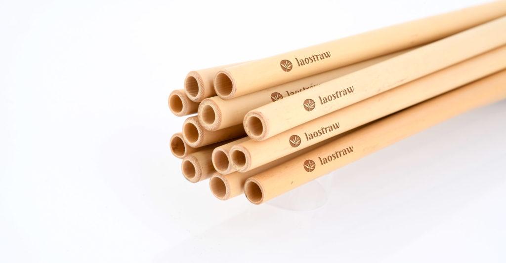 individuelle Bambus Trinkhalme